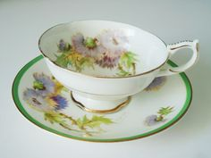 Royal Doulton Signed Teacups and Saucers