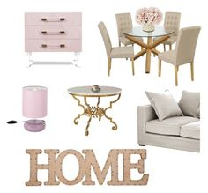 """""""Home sweet home"""" by marine-lal on Polyvore featuring interior, interiors, interior design, maison, home decor, interior decorating, Eichholtz et Home Essentials"""