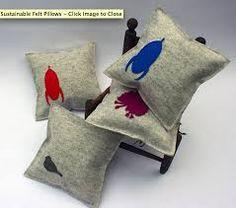 felt pillow - Recherche Google