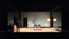 Les Chaises Ionesco Scénographie Alain Lagarde Mise en scène Bernard Lévy avec Thierry Bosc et Emmanuelle Grangé