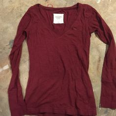 A&F V-Neck Excellent condition. Abercrombie & Fitch Tops Tees - Short Sleeve