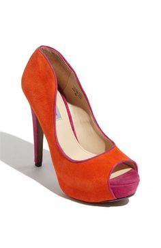 Classiques Entier® 'Sophie' Pump. The next pair of shoes that I need to buy, because I am in sore need of orange shoes.