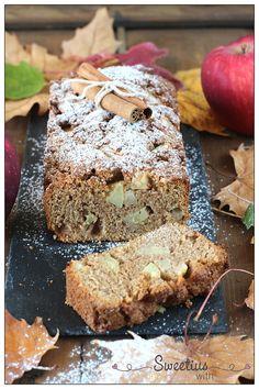 apple cake 2 Apple Cake, Banana Bread, Grains, Easy, Desserts, Cakes, Food, Tailgate Desserts, Deserts