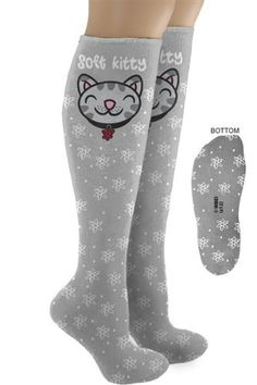 Big Bang Theory Soft Kitty Knee Socks -@- http://geekarmory.com/big-bang-theory-soft-kitty-knee-socks/