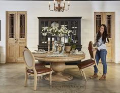 The Making of a Furniture Showroom | At Home: A Blog by Joanna Gaines