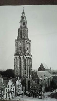 Martinitower. #Groningen #Netherlands 1920s