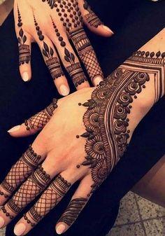 The artefect design of henna 2019 Wedding Henna Designs, Unique Mehndi Designs, Mehndi Design Pictures, Beautiful Mehndi Design, Henna Tattoo Designs, Wedding Mehndi, Mehndi Images, Pakistani Henna Designs, Arabian Mehndi Design
