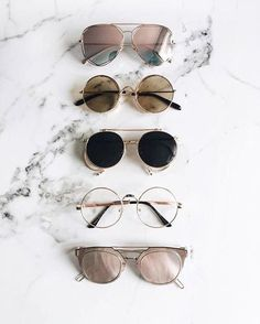 EyeWear Varieties from mirror to pink, black, etc Accessories Sunglasses Ray Ban Sunglasses, Cat Eye Sunglasses, Round Sunglasses, Summer Sunglasses, Retro Sunglasses, Street Style Inspiration, Mode Inspiration, Nike Id, Sunnies