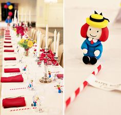 Love this Madeline birthday party! maybe an idea for C's first birthday.