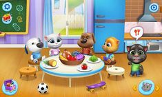 My Talking Tom Friends 1.0.5.1451 MOD (Unlimited Money) - 6 - Store4app.co: All Apps Download For Android Free Android Games, Android Apps, Talking Tom 2 Game, New Match 3 Games, Tom Games, Jake The Dogs, Virtual Pet, Animal Games, Batcave