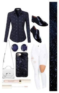 """""""♡Girls light up each other's skies♡"""" by wishybone ❤ liked on Polyvore featuring LE3NO, Summit by White Mountain, Mackage, Effy Jewelry and Casetify"""