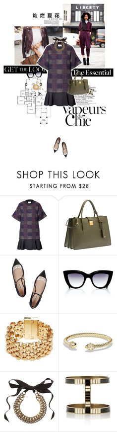 """Pretty little thing."" by sa3ina ❤ liked on Polyvore featuring 3.1 Phillip Lim, Miu Miu, E L L E R Y, GUESS, David Yurman, Lanvin and Isabel Marant"
