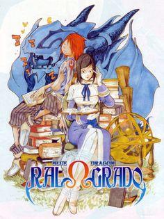 Takeshi Obata, Blue Dragon Ral Grad, Ral, Mio , Grad