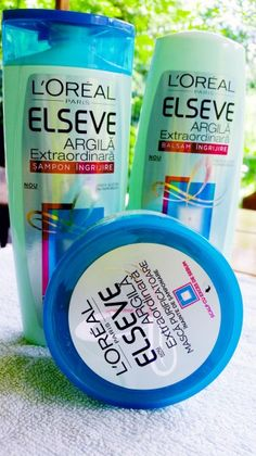 Elseve/elvive extraordinary clay hair care products for greasy hair