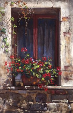 Malcolm Surridge - A sunny windowsill.jpg