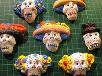 Sugar Skull Clay