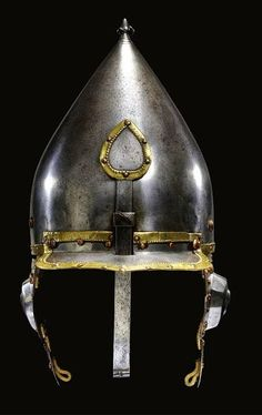 'Miğfer' (helmet).  Ottoman, c. 16th century. With the seal of the Kayı tribe.