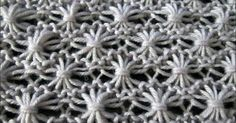A beautiful knitting stitch creating amazing dandelion flowers. The stitch is a bit more time consuming and it might be a bit more challenging to beginners, but the end result is worth the effort.