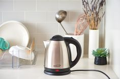 How To Clean an Electric Kettle — Cleaning Lessons from The Kitchn