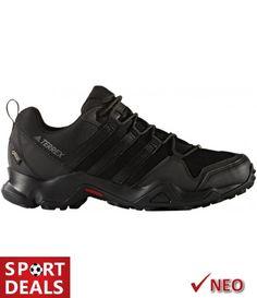 Adidas Sport Performance Men's Terrex Gore-Tex Hiking Sneakers, Black Textile, M Sports Brands, 5 D, All In One, Adidas Sneakers, Shopping, Shoes, Hiking, Mountain, Grey