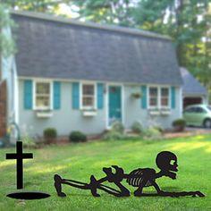 Halloween Yard Art Patterns