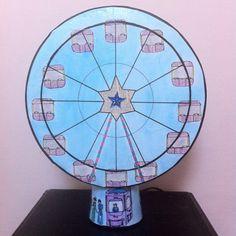 Lampe magique grande roue avec apparitions d'images