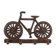 Metal Wall Mount Bicycle Hook Rack Hat/Key Hooks ** Continue to the product at the image link.