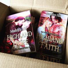 Love when this happens! #paperbacks #meninkilts #WildThistleTrilogy #historicalromance #scottishromance #scottishromancenovel #romancenovel #AuthorMadelynHill