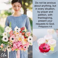 Inspiration For Everyday Bible Verses Quotes Inspirational, Inspirational Thoughts, Philippians 4 6, God Made You, Favorite Bible Verses, Faith Hope Love, You're Beautiful, Anxious, Facebook Sign Up