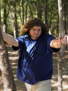 TV Guide's LOST photo spread.  Jorge Garcia, who plays Hurley/Hugo on LOST