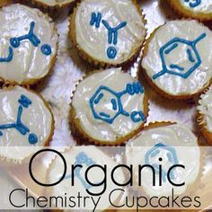 "Pieces by Polly: ""Organic"" Chemistry Cupcakes for Mole Day or Any Day"