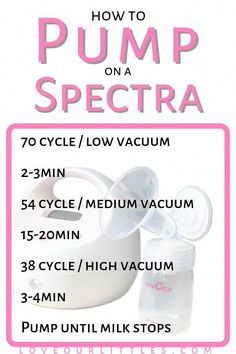 Best Breast Pumps for Exclusive Pumping, On the Go and Beyond! # Pin this to your pumping or breastfeeding board for a handy reference on how to use the Spectra breast pump settings. Baby Boys, Exclusively Pumping, Breastfeeding And Pumping, Dieting While Breastfeeding, Breastfeeding Positions, After Baby, Pregnant Mom, Baby Hacks, Baby Feeding