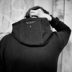 CLEANT #NOIR_hoodie