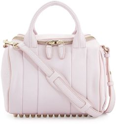 Love this: Rockie Small Crossbody Satchel Bag Gummy Pink @Lyst