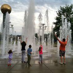 Worlds Fair Park, Knoxville TN