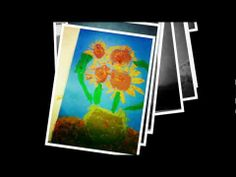 van Gogh Sunflowers - Kindergarten Session