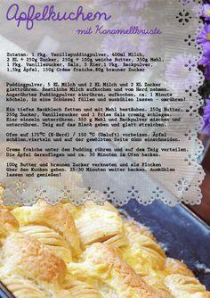 Apfelkuchen Creme Fraiche, Cantaloupe, Fruit, Food, Caramel, Apple Pie Cake, Koken, Food Food, Rezepte