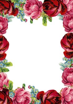 Free printable vintage rose stationery - ausdruckbares Briefpapier - freebie | MeinLilaPark – DIY printables and downloads