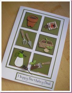 Gardening card idea