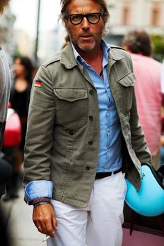 On the Street…Military Effect, Milano « The Sartorialist - via http://bit.ly/epinner