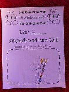 Gingerbread Men Unit