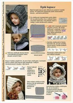 Exceptional Stitches Make a Crochet Hat Ideas. Extraordinary Stitches Make a Crochet Hat Ideas. Crochet Hooded Scarf, Crochet Baby Beanie, Crochet Scarves, Crochet Clothes, Baby Knitting, Crochet Diy, Crochet For Kids, Trendy Baby Girl Clothes, Crochet Winter