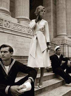 Toni Garrn | Alexi Lubomirski | Vogue Germany August 2012 |