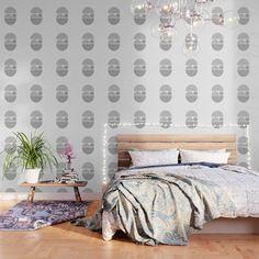Grey And White Wallpaper, Green Wallpaper, Peel And Stick Wallpaper, Pattern Wallpaper, Swan Wallpaper, Bedroom Wallpaper, Butterfly Wallpaper, Mandala Rose, Moon Mandala
