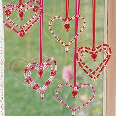 Beaded Hearts Kit