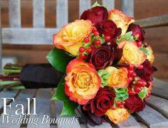 Fall wedding bouquet idea