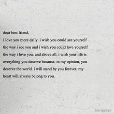 Dear best guy friend quotes google search quotes pinterest i love my best friend and i always will this is how i feel about you youre my older sister and i will always be your younger sister expocarfo