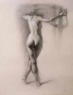 Sketch study by Roberto Ferri