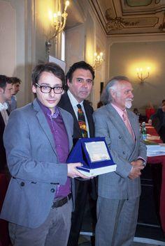 Massimo Paracchini riceve il Premio Internazionale Tiepolo a Milano.