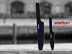 闇属性のナイフ STELTON ステルトン Pure Black Knife